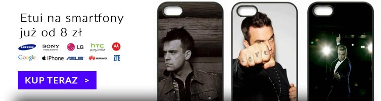 Robbie Williams etui na smartphony