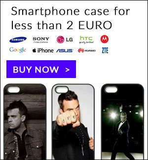 Robbie Williams iPhone and Samsung case