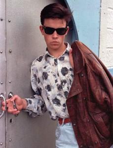 Robbie Williams w wieku 16 lat, rok 1990