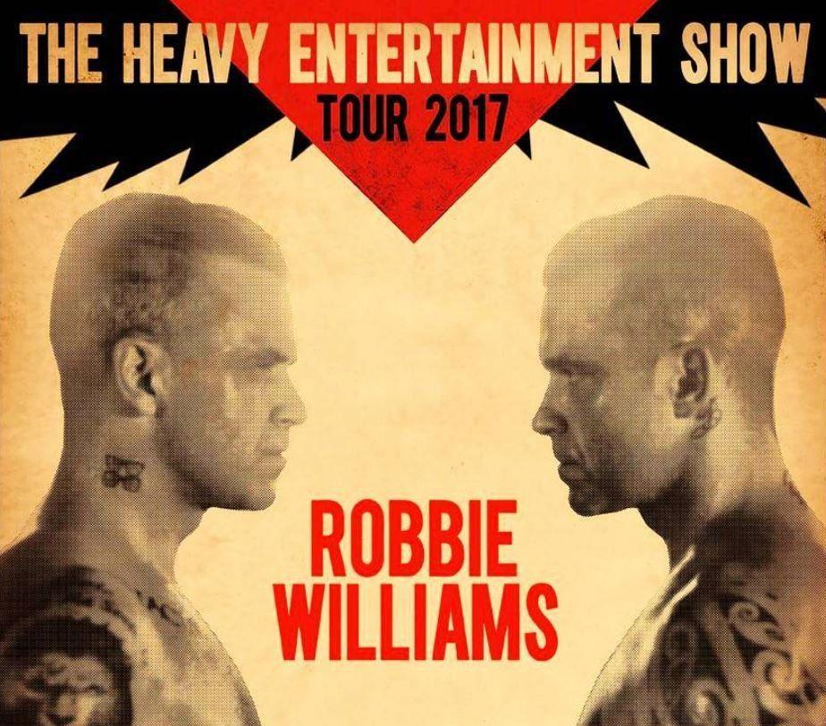 Robbie Williams Koncert Warszawa 2017