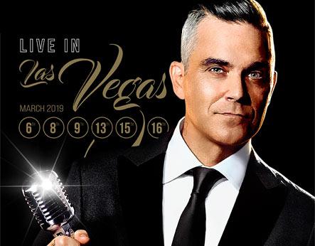 Robbie Williams Live in Las Vegas