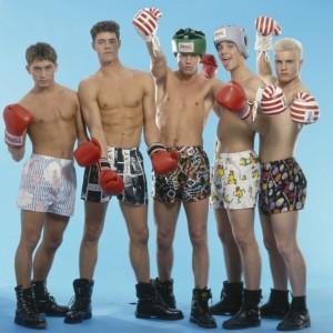 Take That na sesji w bokserkach