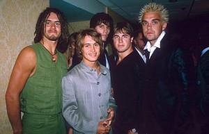Jedno z ostatnich zdjęć TT przed odejściem Robbiego 1995