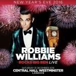 Robbie Williams sylwester Londyn